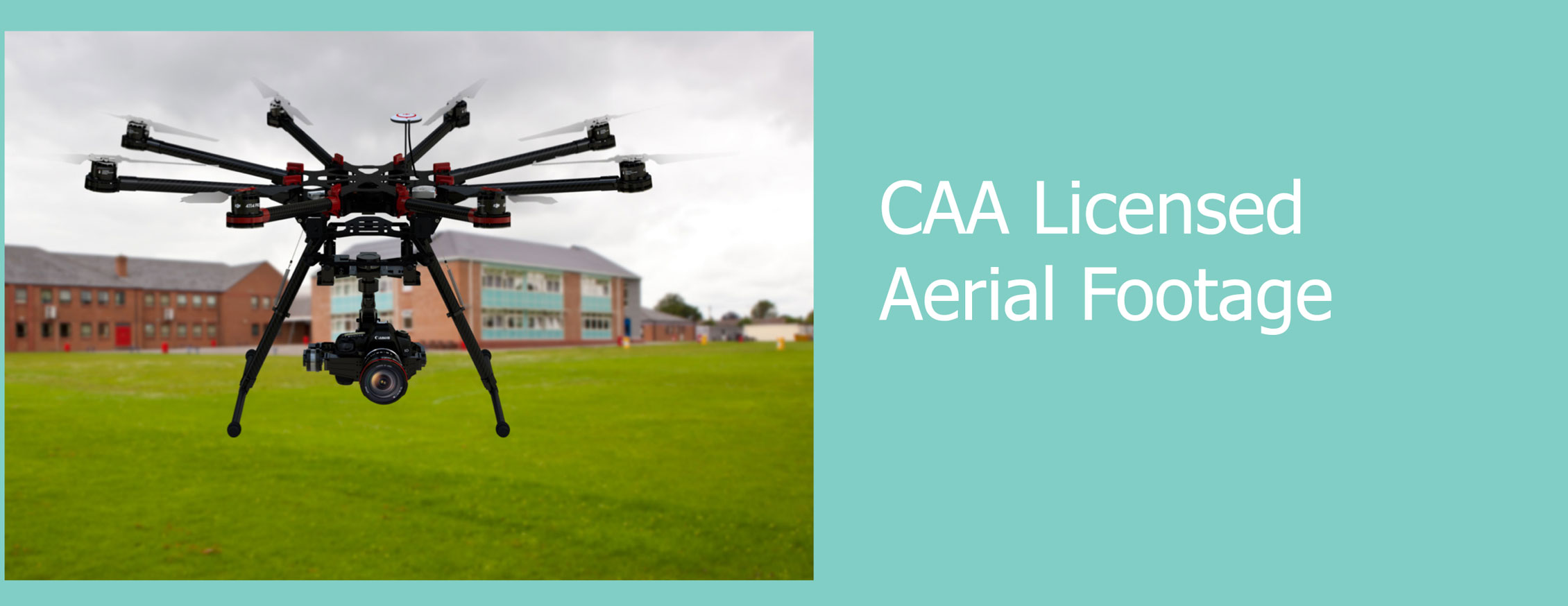 CAA licensed aerial footage