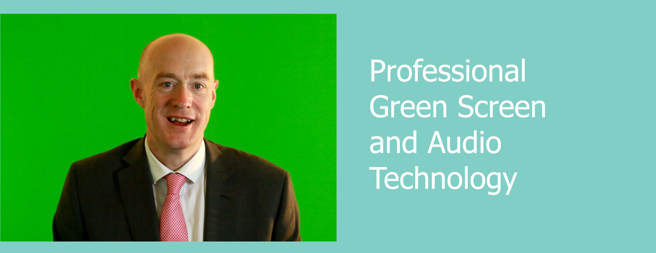 professional green screen and audio technology