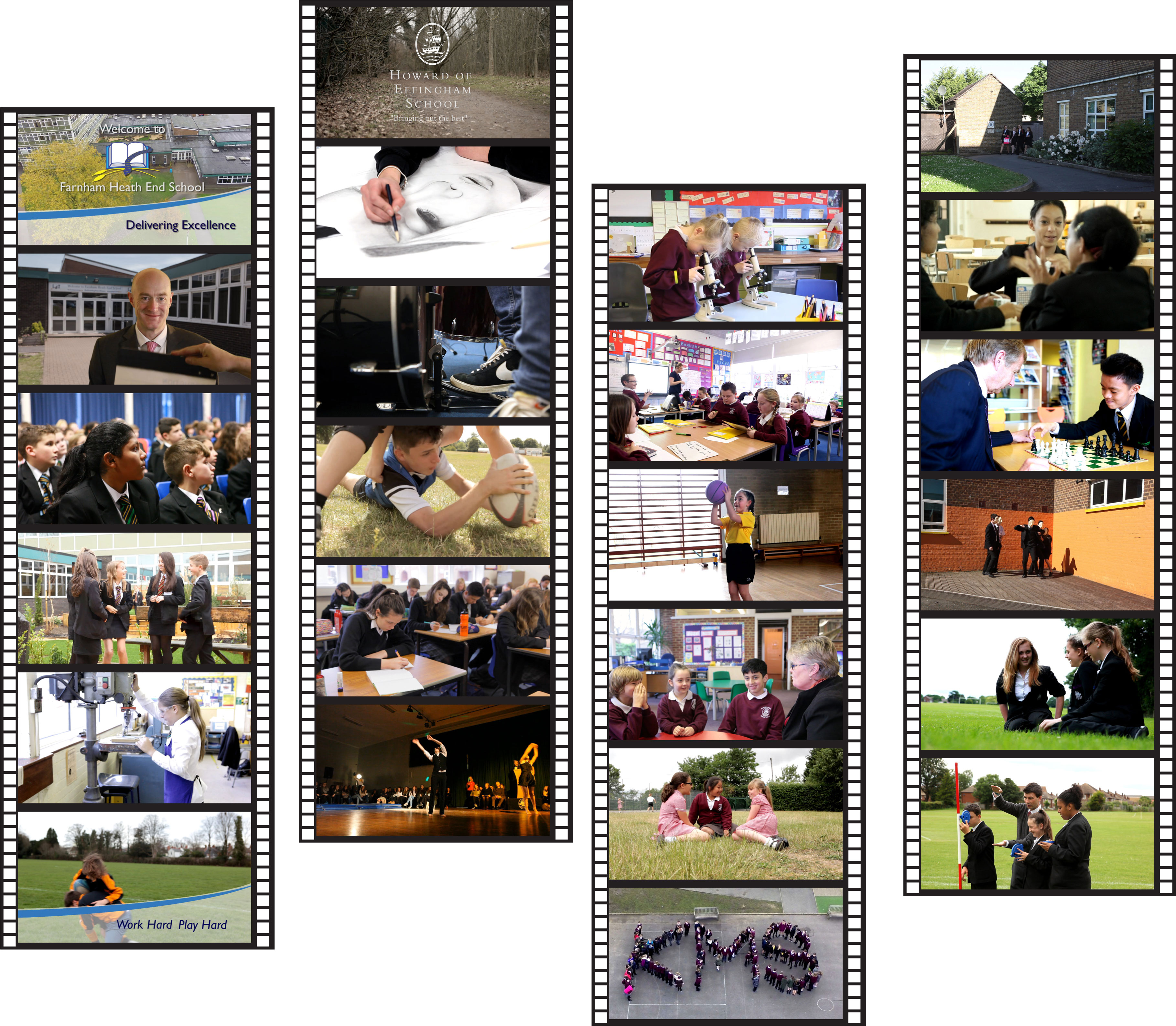 school promotional video moments