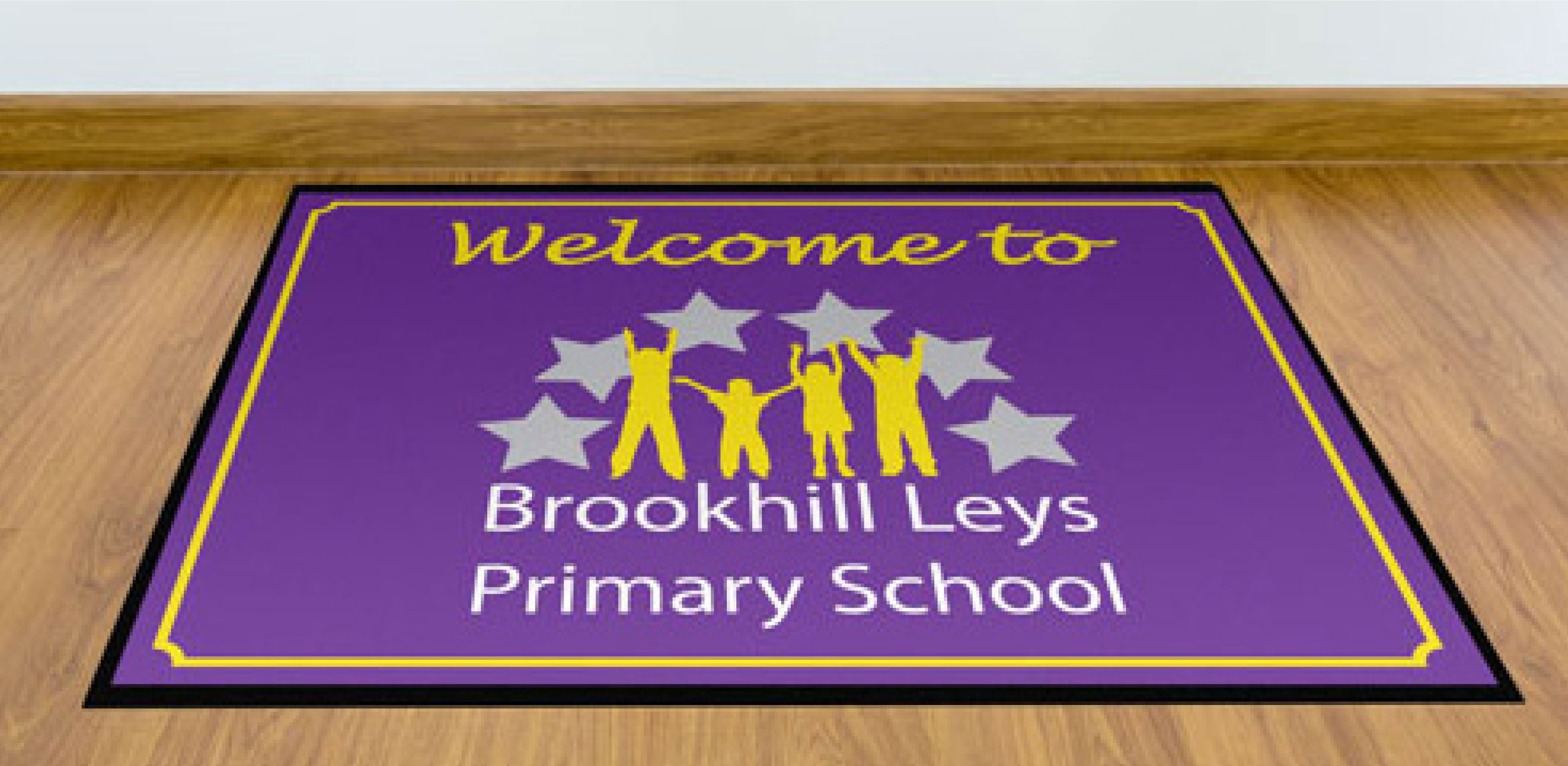 welcome mats brookhill leys primary school