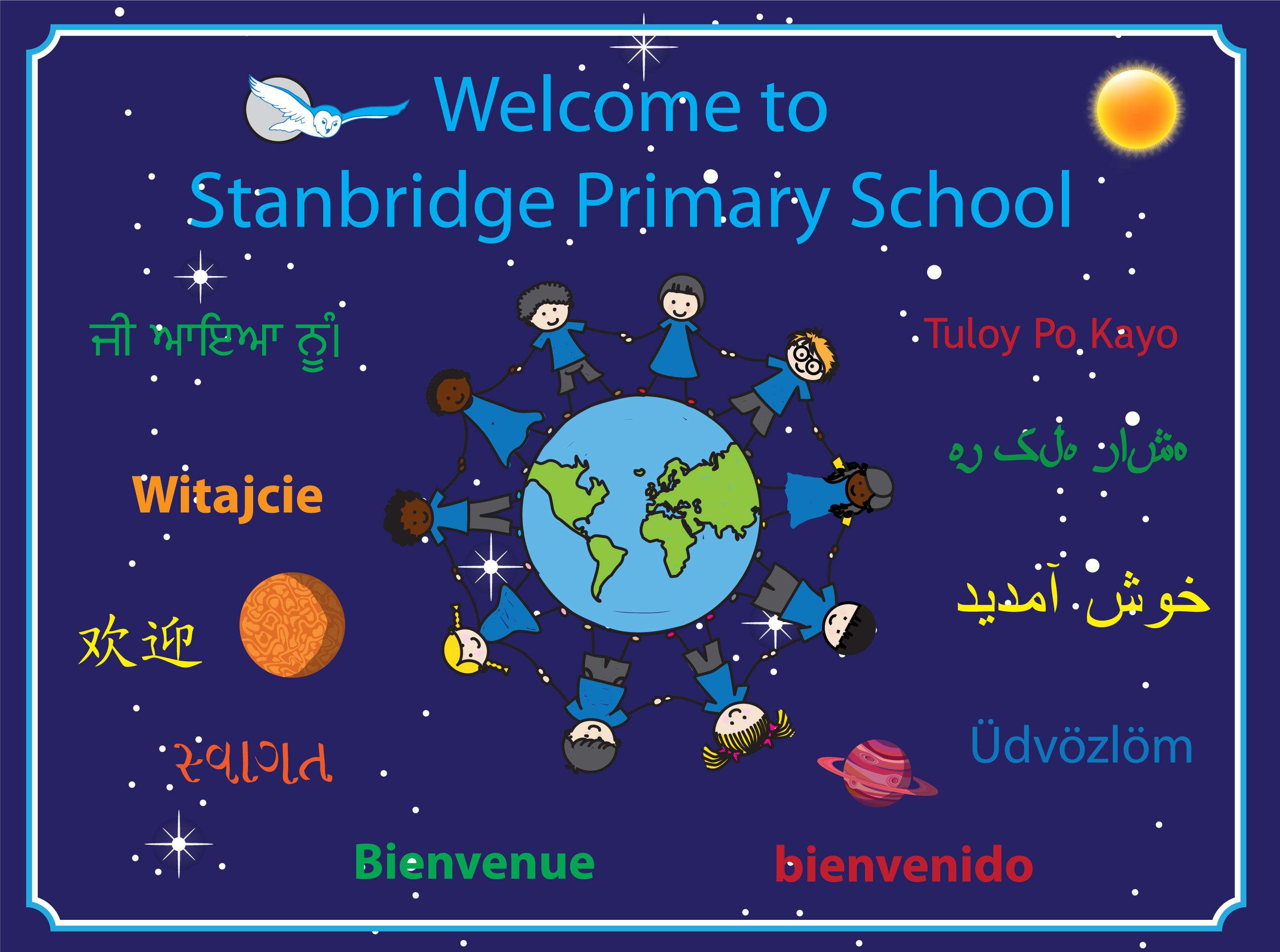 welcome mat stanbridge primary school