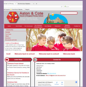 Aston & Cote C of E Primary School