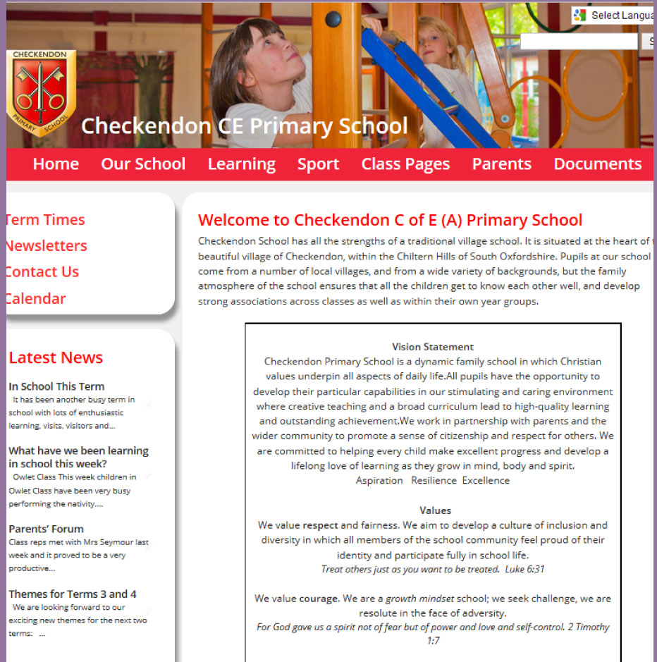 Checkendon Church of England (A) Primary School