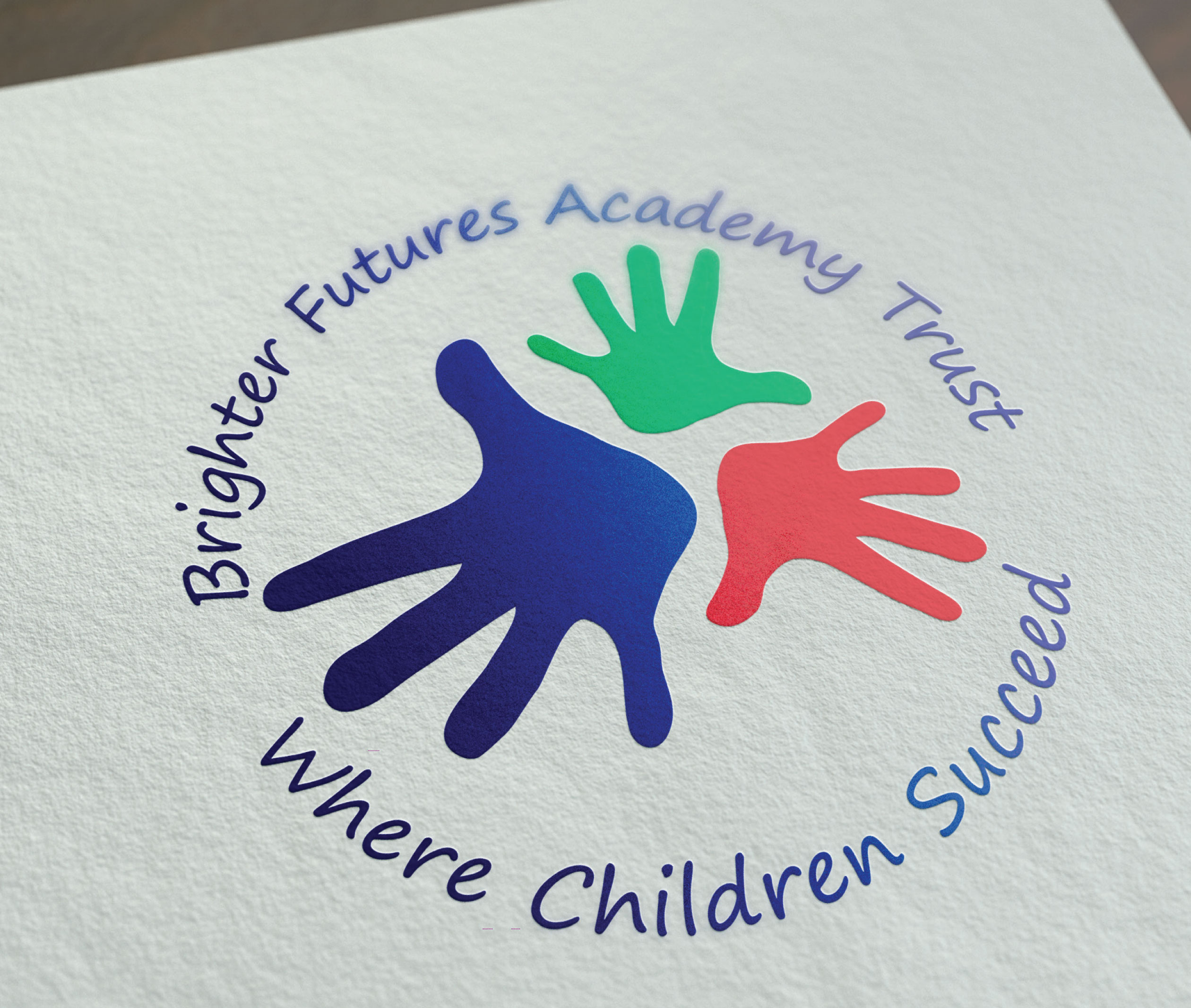school branding for brighter futures academy trust