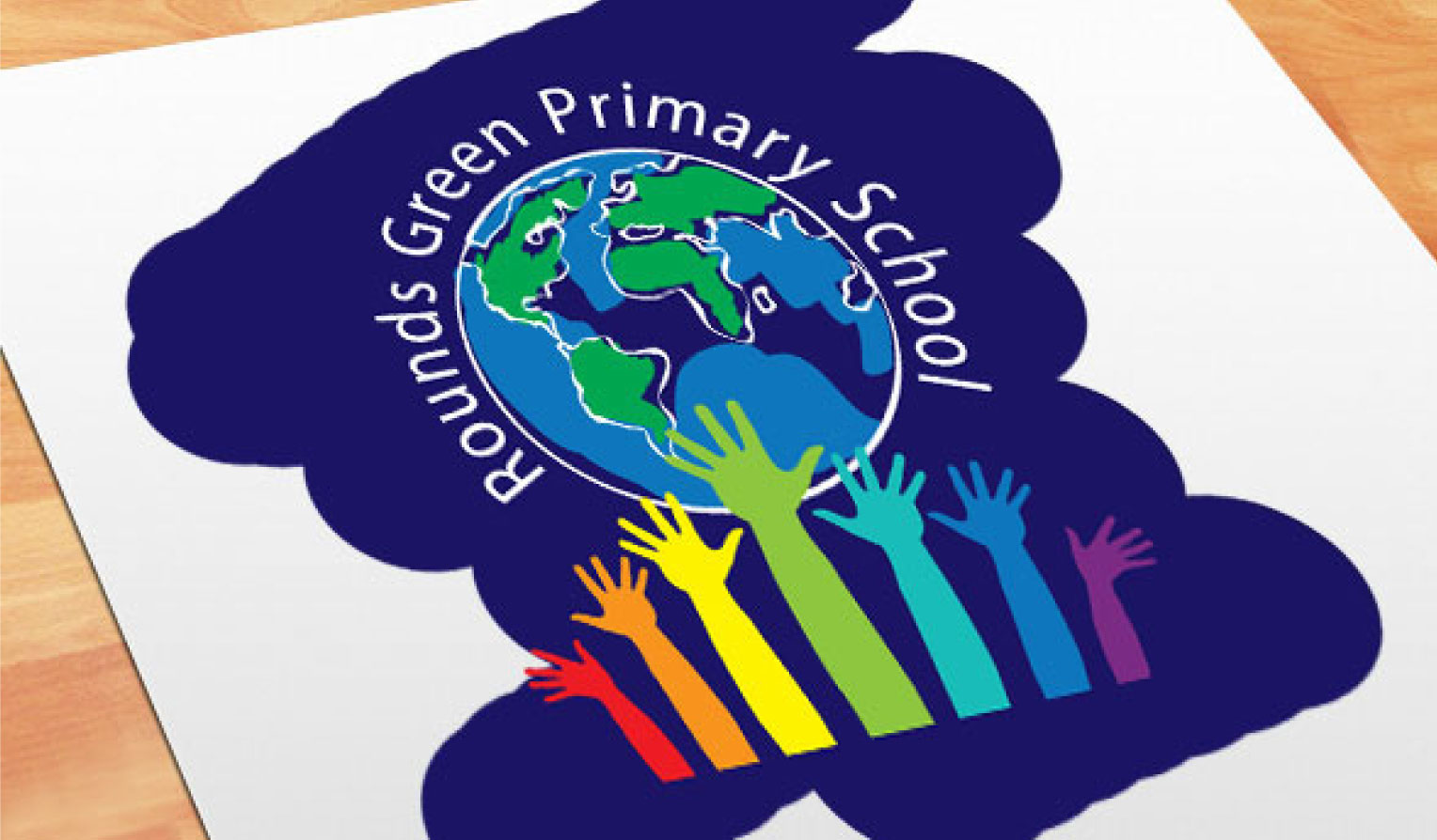 school branding for rounds green primary school